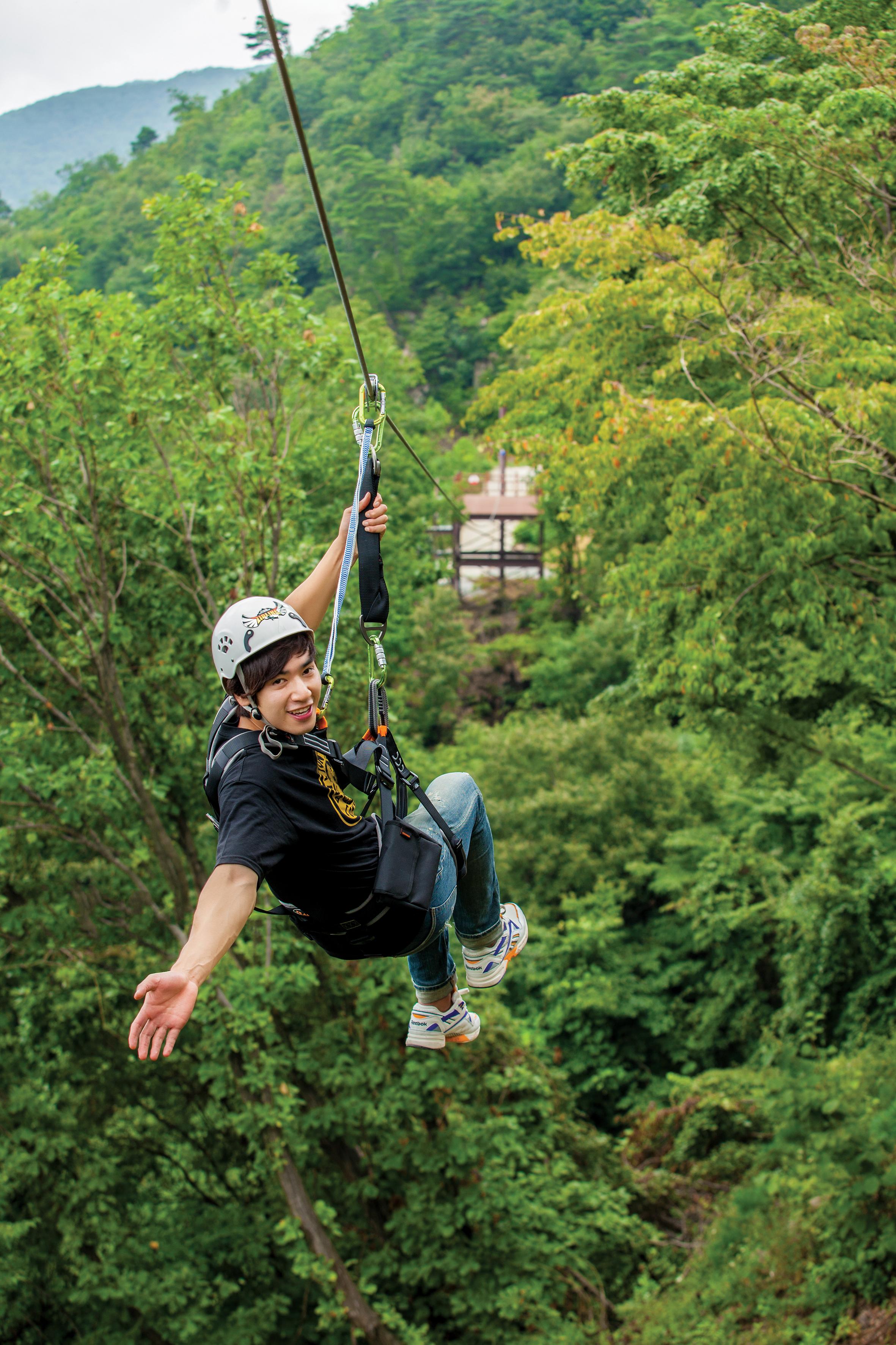 Zipline Yongin – Dynamic experience in Korea (Price, Tour, Hours…)