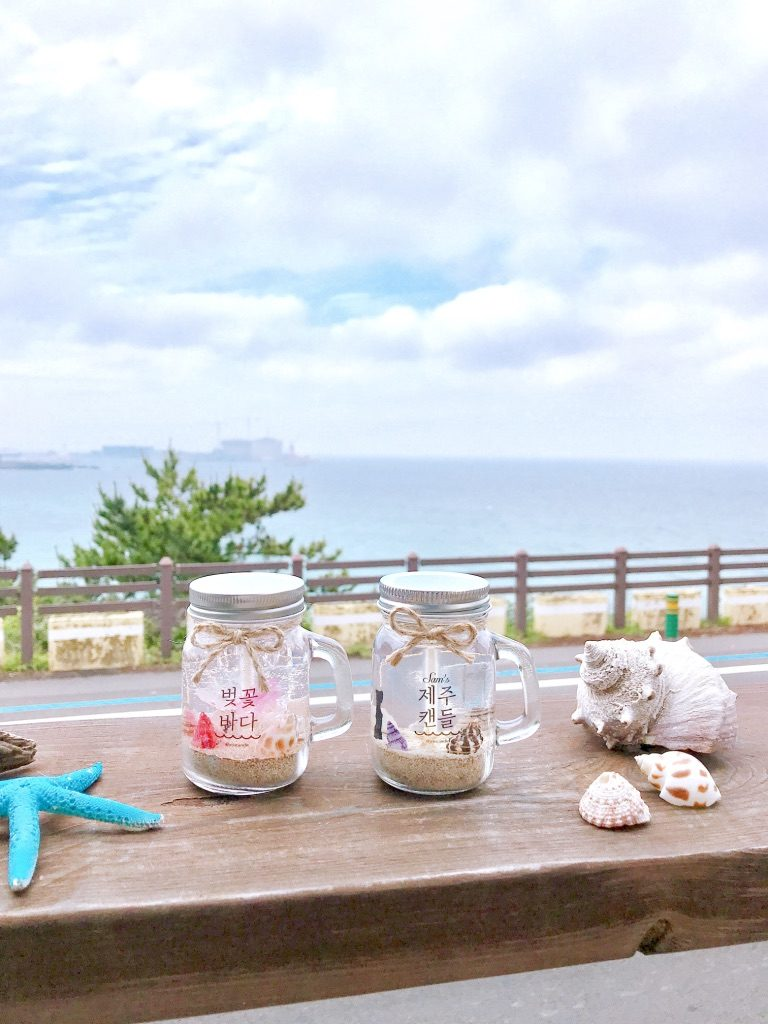 Jeju souvenir- Jeju's handmade candles