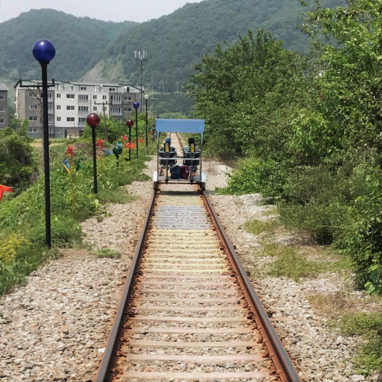 Yangpyeong Rail Bike: get close to nature