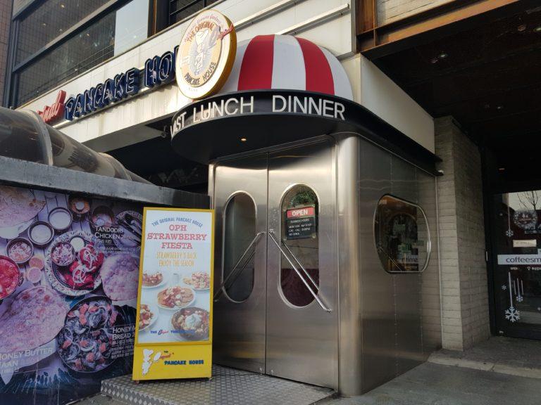USA Well-known chain pancake shop in Itaewon – Original Pancake House